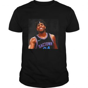 Kings Buddy Hield 1000 game no 1 world shirt