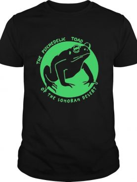 Psychedelic Toad Of The Sonoran Desert shirt