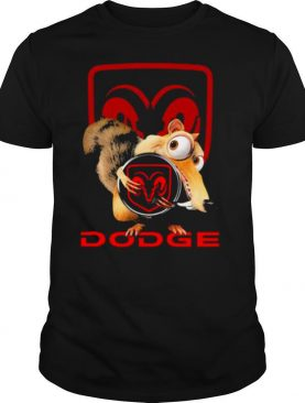 Squirrel Nuts With Logo Dodge Shirt