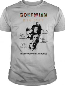 The Bohemian Rhapsody Signatures Thank You For The Memories shirt