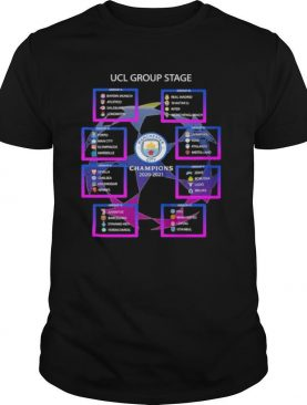 UCL Group Stage Manchester City Champions 2020 2021 Shirt