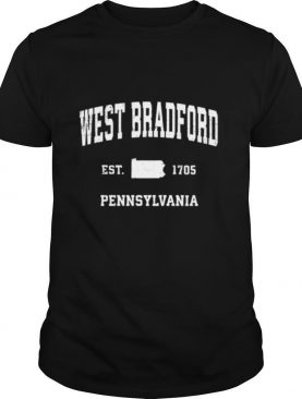 West Bradford Pennsylvania PA Vintage Athletic shirt