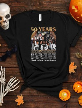 50 years 1971 2021 Earth Wind And Fire Thank You For The Memories Signatures Shirt