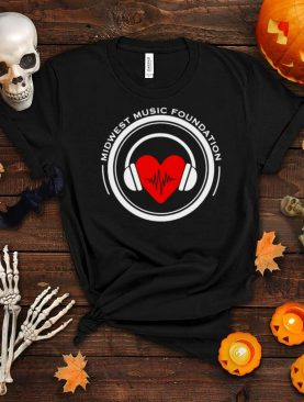 Midwest Music Foundation Heart T shirt