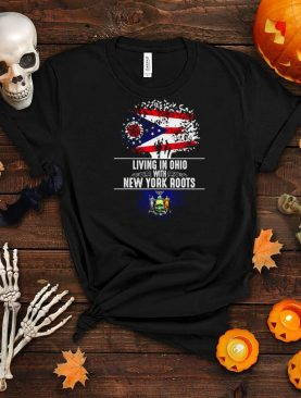 Ohio Home New York Roots State Tree Flagge Love shirt